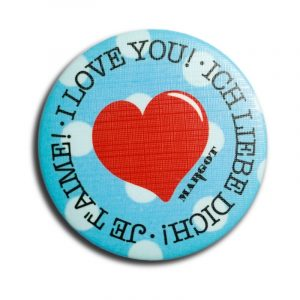 iLoveU Badge