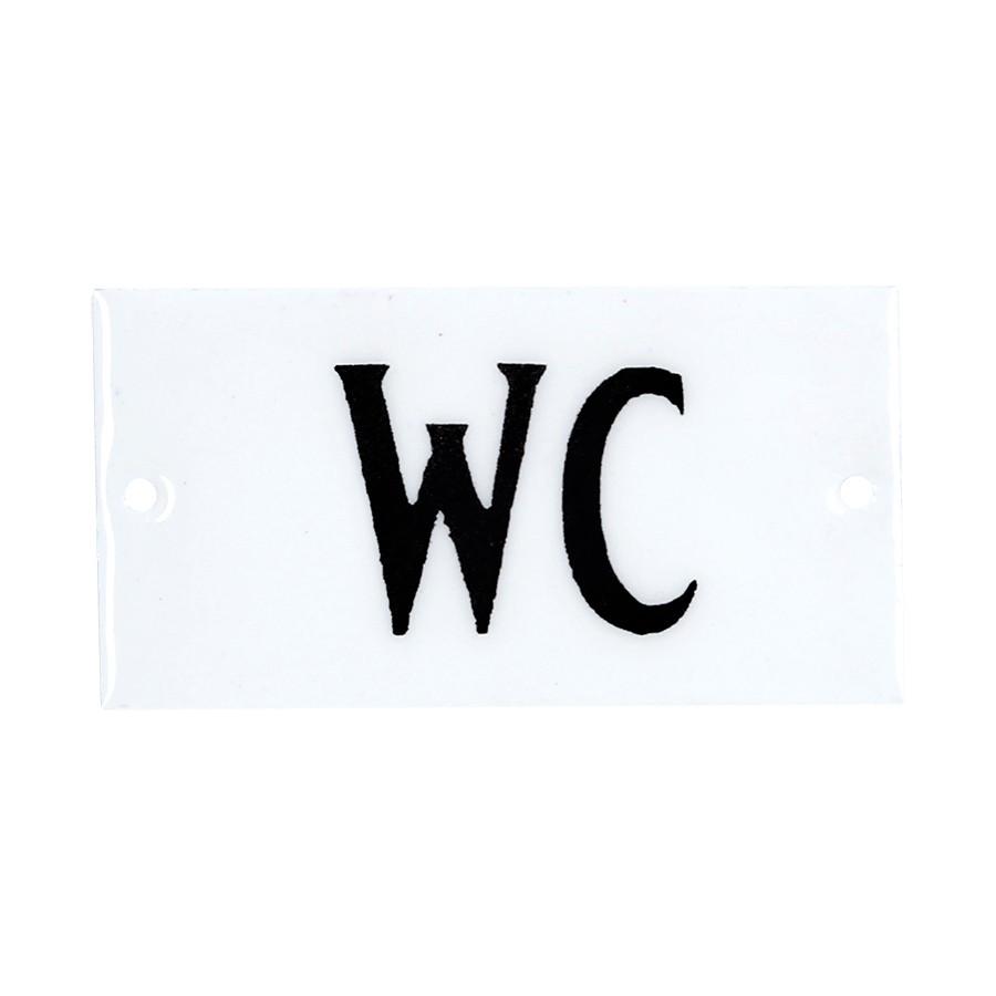 649711 Emaljeskilt - WC