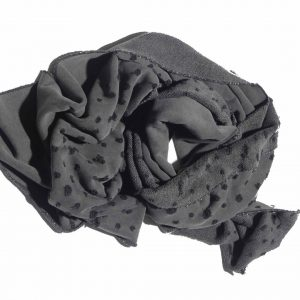 Scarf Suffice Holes - Cold Dyed Grey