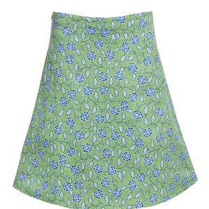 Sofias Green Skirt