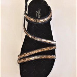 15067-1 Gold Sandal