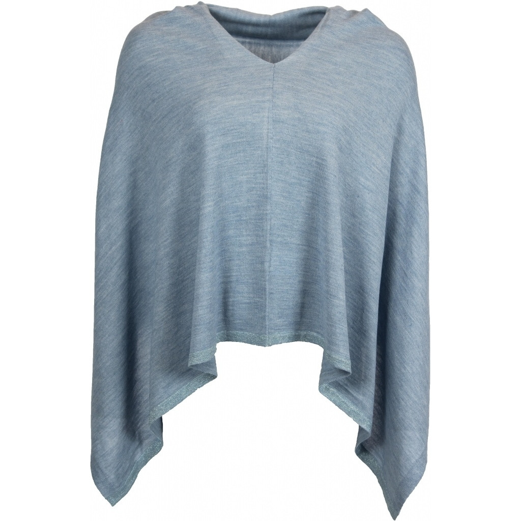 56341 Dina Poncho Light Blue