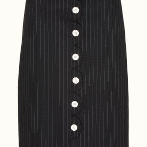 Margot Pinstriped skirt