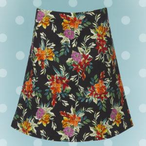 Blomsteret Nederdel